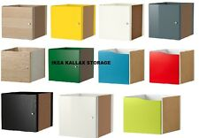 IKEA KALLAX Shelf rack Insert with Door colours compatible with EXPEDIT Brandnew