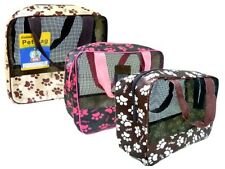 BUY 2 GET 1 FREE Pet Carrier Soft Sided Cat / Dog Comfort Travel Bag 9x8.7x3.9in