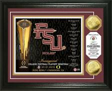 Florida State Seminoles College Football Playoff 2015 Rose Bowl 24kt Coin Photo