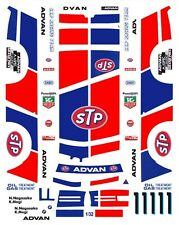 #1 BMW 635 STP INTERTEC 1986 1/32nd Scale Waterslide Slot car Decal