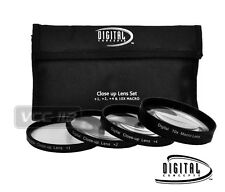 58MM Lens Filter & Close Up Macro Kit for Canon EOS Rebel T5i T4i T3i T3 T2i SL1