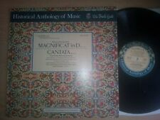 Historical Anthology of Music - Bach Guild Magnificat in D / Cantata LP HM 22SD