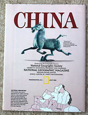 National Geographic July 1991 Map: China