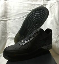 Nike Air Force 1 Supreme Max Air '07 Sprm One Sz 9.5 316666-002 Black