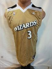 Adidas NBA Jersey WASHINGTON Wizards Caron Butler Gold sz S