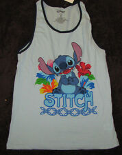 SMALL SHIRT LADIES WOMENS TANK TOP DISNEY LILO AND STITCH WONDERFUL WORLD MOVIE!