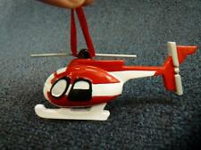 Rudolph & Me Helicopter Plane Christmas Ornament NEW with Tag (o2252)