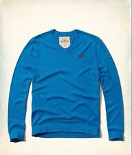 NWT Hollister by Abercrombie Men's Long Sleeve V Neck Sweater Medium M