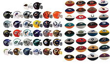 MINI NFL FOOTBALL HELMETS AND ERASERS COMPLETE LOT ALL 32 TEAMS SETS HOT!