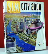 SimCity 2000 PC (Complete in Big Box) Floppy Disks