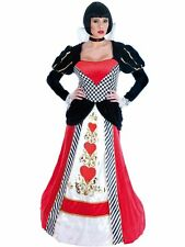 Queen of Hearts Long Dress Fairytale Wonder Land Book Week Outfit Extra Small