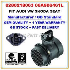 AUDI VW SKODA SEAT 1.8T MASS AIR FLOW METER SENSOR 0986280217 0280218063 OE