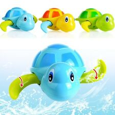 Colorful New Born Babies Swim Turtle wound-up Chain Baby Children Bath Toys