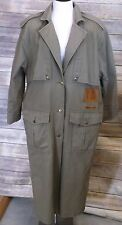 WOMEN'S TOGETHER! WESTERN DUSTER DENIM CORD, SIZE MISSY 12, TRENCH, RIDING COAT