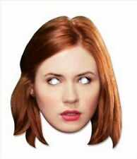 Amy Pond Doctor (Dr) Who's Assistant Official Fun CARD Single Party Face Mask