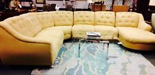 Thayer Coggin Mid Century Modern M/I Italy Sectional Sofa Brand New Upholstery