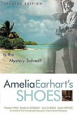 Amelia Earhart's Shoes: Is the Mystery Solved?-ExLibrary