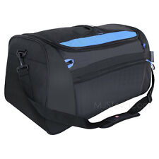 "NEW Swiss Gear Genuine Swiss Army Knife Maker Black/Blue 19"" Soft Duffle Gym Bag"