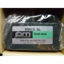 Gear Head ORIENTAL MOTOR 5gn12.5 L