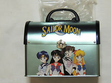NEW SAILOR MOON METAL LUNCH BOX 1999   LIGHT TEAL