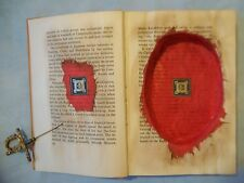 HOLLOW BOOK, BOOK SAFE, STASH BOOK, VINTAGE Book, The Red Napoleon
