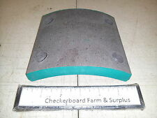 NOS Standard Forge Friction Brake Lining 8687066-C 2530006786135 UB2231-3 M172A1