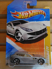 HOT WHEELS FERRARI FF NEW MODELS SERIES #V0022 2011 SILVER NEW IN PACK 3+ 1:64