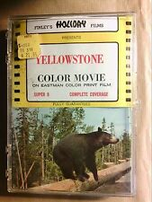 RARE FILM SUPER 8 MM COULEURS / PARC DE YELLOWSTONE / TRES BON ETAT+++
