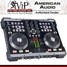 NEW American Audio VMS2 2-Channel USB MIDI DJ Controller VMS-2 w/ Virtual DJ LE