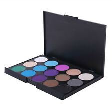 Professional 15 Colors Matte Shimmer Eyeshadow Palette Makeup Cosmetic Kit Set