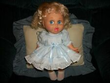 Dress and Panty Set for Galoob Baby Face Doll in Baby Blue
