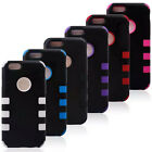 """For iPhone 6 Plus 5.5"""" inch screen protector/Heavy Duty Hybrid Rugged Hard Case"""