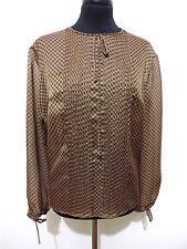 CULT VINTAGE '80 Camicia Donna Blusa Pois Jersey Woman Shirt Sz.L - 46