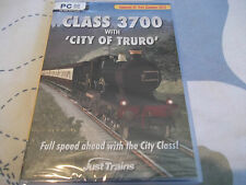 CLASS 3700 WITH CITY OF TRURO PC-DVD NEW SEALED ( expansion for train sim 2013 )