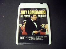 Guy Lombardo-50 Years 50 Hits 8-Track Tape-Good Condition