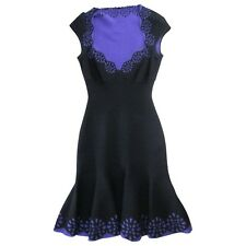 New Alexander McQueen San Gallo Fit and Flare Knit Dress - RRP £1475