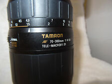 Tamron AF 70-300mm F/4-5.6  LD MACRO 1:2 - Lens for Sony A-mount PLUS HOOD