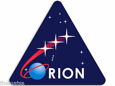 "4"" ORION SPACE ASTRONOMY NASA MISSION HELMET BUMPER STICKER DECAL MADE IN USA"