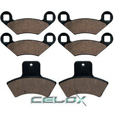 Front Rear Brake Pads For Polaris Sportsman 500 Duse HO 2001 / HO 2001 2002