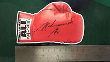 Muhammad Ali Sticker 1942-2016 Boxing Glove sticker decal Signed Print RIP 12cm