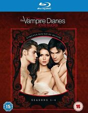 VAMPIRE DIARIES Complete Season 1 - 4 Blu Ray Series Box Set New 1 2 3 4