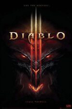 "Diablo 3 LAMINATED POSTER ""Shall Tremble, Computer Game"" BRAND NEW Licensed Art"