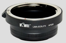 Kiwi Camera Mount Adapter - for Canon EOS to Fuji X