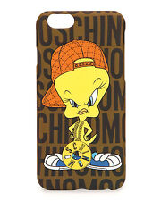 100% AUTHENTIC Moschino Couture X Jeremy Scott Tweety Looney Tunes iPhone 6 Case