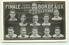 Equipe de Foot - Demi-Finale Coupe ch. Simon - Bordeaux - 1er Avril 1944