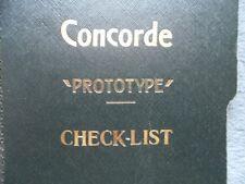 Concorde 002 Aircrew Checklist Manuals 1972 copy on CD