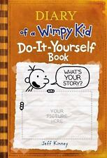 DIARY of a WIMPY KID Do-It-Yourself Book HARDCOVER WITH ORIGINAL BOOK MARKER