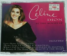CELINE DION SEALED At The Movies EP AUSTRIA IMPORT Sony Epic Singer Pop lp