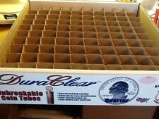 Original Box For Quarters Storage; 100 Tubes or Rolls  - NO COINS - NO TUBES