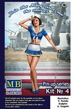 Suzie-U.s. / American Pin-up Girl # 24004 1/24 Masterbox